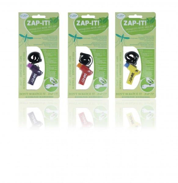 Zap-It Sparset / 3er Pack ( Farben: lila, rot, gelb )
