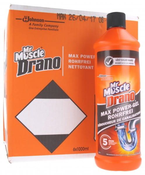 Mr Muscle Drano Powergel