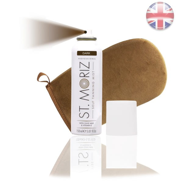 St. Moriz Spray Dark 150 ml & Premium-Applikator