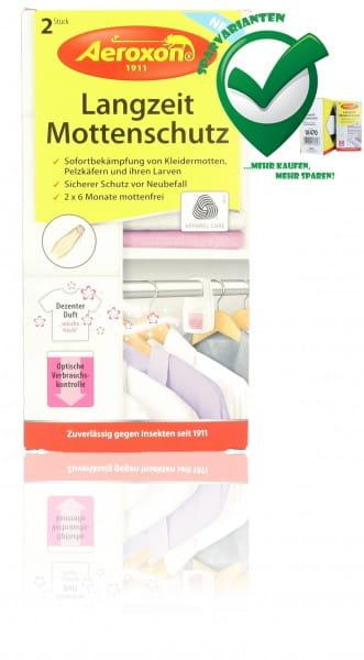 Aeroxon, Langzeit, Mottenschutz, 4027600184400, doppelpack