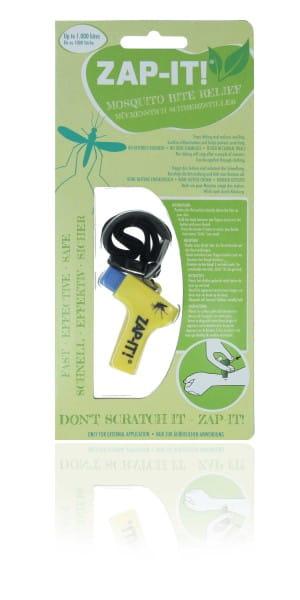 Zapit, gelb, ZAP-IT, gegen Juckreiz, Schmerzstiller, Mückenstich, ohne Chemie