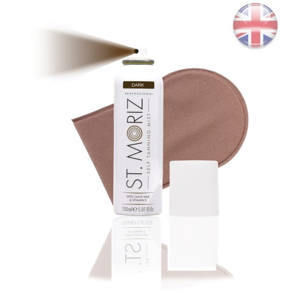 St. Moriz Spray Dark 150 ml & Horn-Applikator